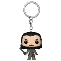 Брелок Funko Pocket POP! Keychain: Game of Thrones: Jon Snow (Beyond the Wall) 31812-PDQ