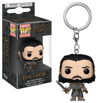 Брелок Funko Pocket POP! Keychain: Game of Thrones: Jon Snow (Beyond the Wall) 31812-PDQ