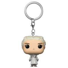 Брелок Funko Pocket POP! Keychain: Game of Thrones: Daenerys (White Coat) 31813-PDQ
