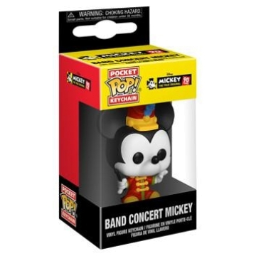 Брелок Funko Pocket POP! Keychain: Disney: Mickey's 90th: Band Concert Mickey 32176-PDQ