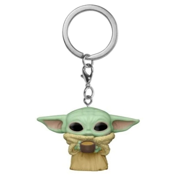 Брелок Funko Pocket POP! Keychain: Star Wars: The Child with cup 53042
