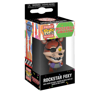 Брелок Funko Pocket POP! Keychain: FNAF: Rockstar Foxy 32154