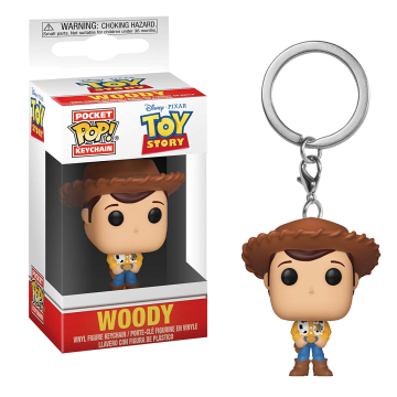 Брелок Funko Pocket POP! Keychain: Disney: Toy Story 4: Woody 37416