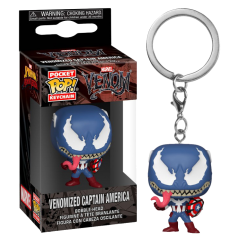 Брелок Funko Pocket POP! Keychain: Venomized Captain America 46462