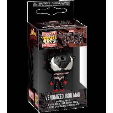 Брелок Funko Pocket POP! Keychain: Venomized Iron Man 46463