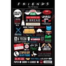 Постер Maxi Friends Infographic 33324