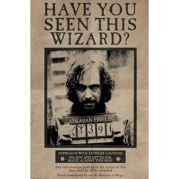 Постер Maxi Harry Potter Wanted Sirius Black 33681
