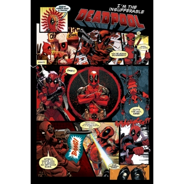 Постер Maxi Deadpool Panels 33793