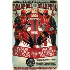 Постер Maxi Deadpool Wade vs Wade 33796