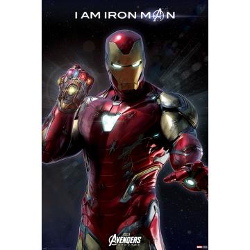 Постер Maxi Avengers Endgame I Am Iron Man 34542