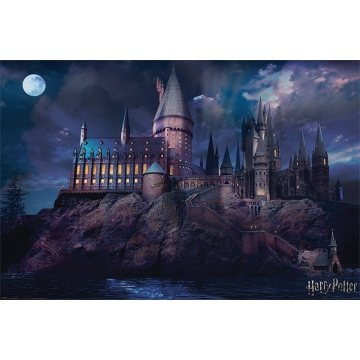 Постер Maxi Harry Potter Hogwarts 34369