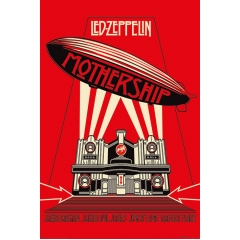 Постер Maxi Led Zeppelin Mothership Red 34445