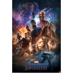 Постер Maxi Avengers Endgame From The Ashes 34481