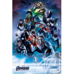 Постер Maxi Avengers Endgame Quantum Realm Suits 34486