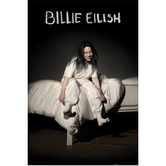 Постер Maxi Billie Eilish When We All Fall Asleep Where Do We Go 34515