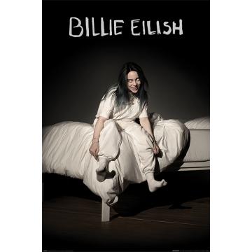 Постер Maxi Billie Eilish When We All Fall Asleep Where Do We Go 34515