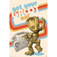 Постер Maxi Guardians Of The Galaxy Get Your Groot On 34562