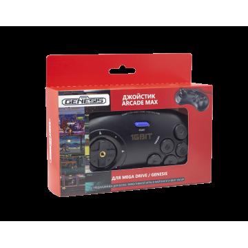 Джойстик проводной Retro Genesis Controller 16 Bit Arcade Max