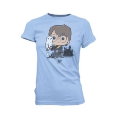 Футболка Funko POP! T-Shirt: Harry Potter and Hedwig Super Cute Juniors 20010