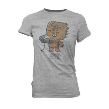 Футболка Funko POP! T-Shirt: Star Wars: Chewy with Hair Dryer 26808