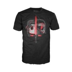 Футболка Funko POP! T-Shirt: Star Wars: The Last Jedi Kylo Ren Head Split 27698