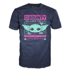 Футболка Funko POP! Star Wars: Bounty The Child Navy (M) 50437